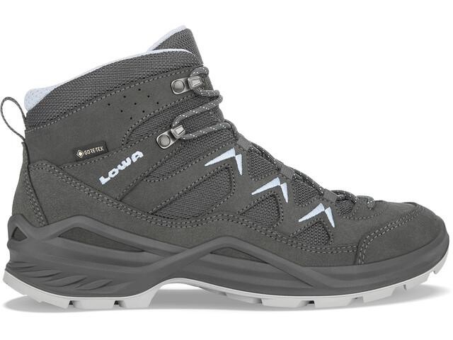 Lowa Sirkos Evo GTX Mid Shoes Women, anthracite/ice blue